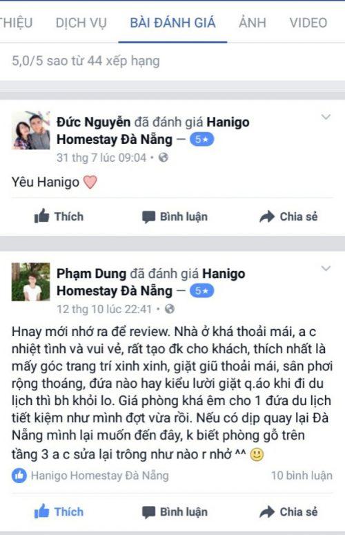 homestay da nang hanigo danh gia