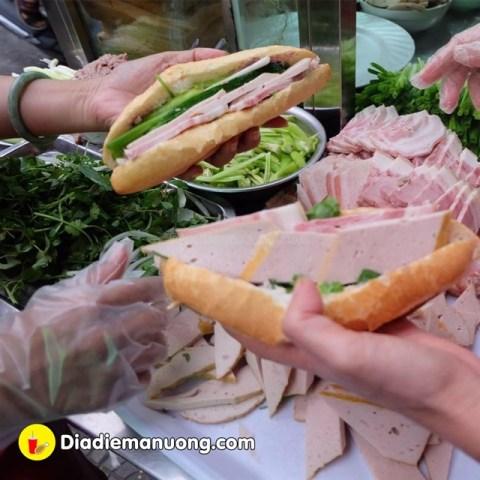 Bánh mì Bà Lan – ngon đúng vị bánh mì Đà Nẵng