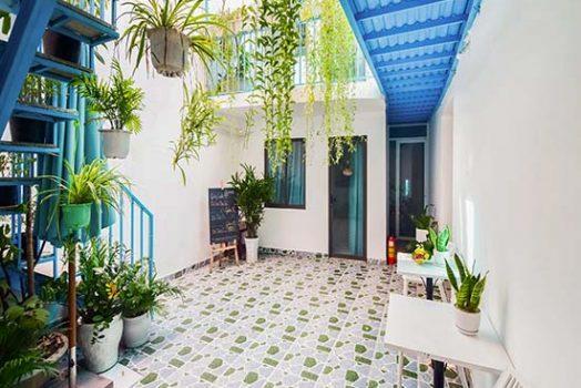 Homestay Nguyên Căn Đà Nẵng đẹp, sân vườn xanh mát, gần biển cho thuê giá rẻ